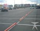 Организация парковочных мест ГСТ Декатлон